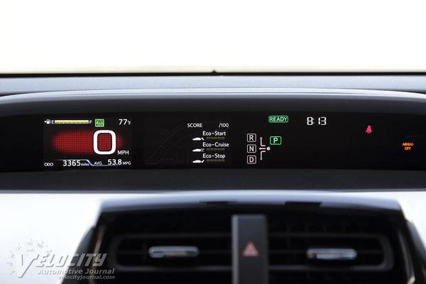 2016 Toyota Prius Instrumentation