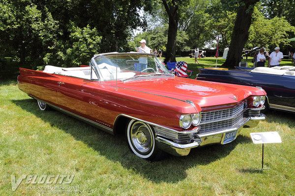 1963 Cadillac Eldorado convertible