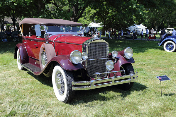 1930 Pierce-Arrow Model B sport phaeton