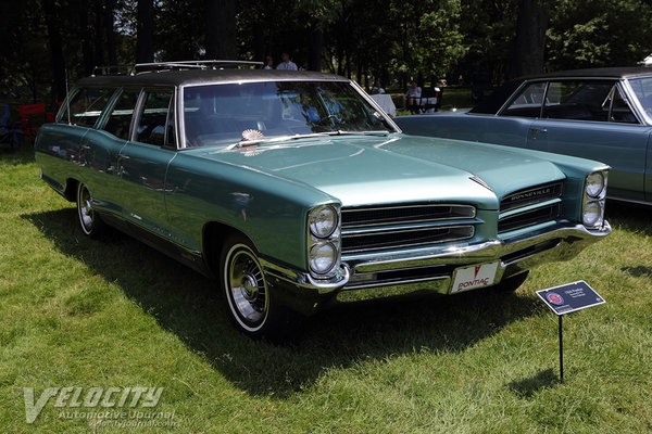 1966 Pontiac Bonneville wagon