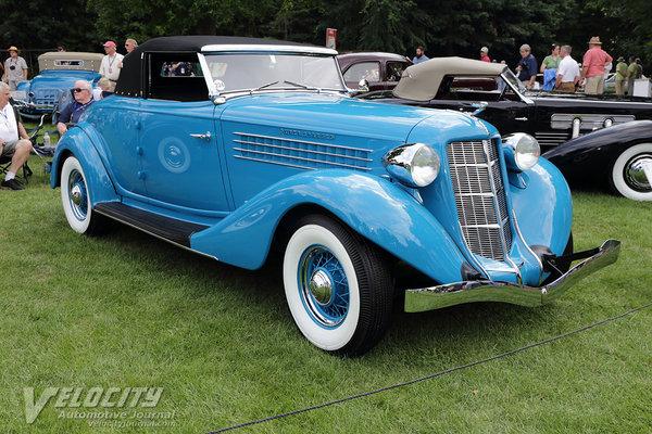 1936 Auburn 852 Cabriolet