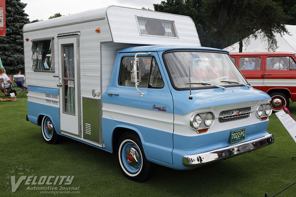 1963 Chevrolet Corvair 95 Rampside Camper by San-Cruiser