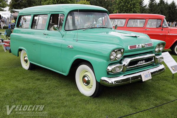 1959 GMC Series 100 Suburban
