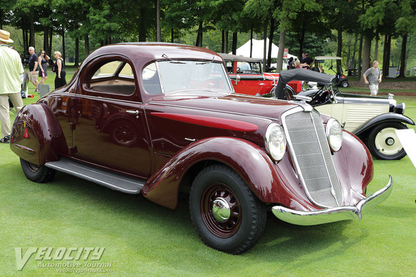 1935 Hupmobile Aerodynamic Coupe