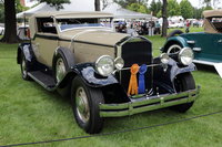 1930 Pierce-Arrow Model B Convertible Victoria by Waterhouse