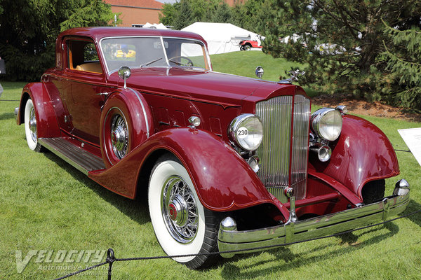 1934 Packard 1108 Coupe by Dietrich