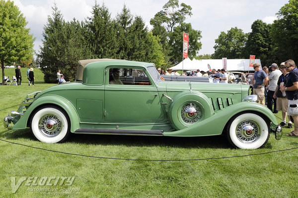 1934 Packard 1108 Stationary Coupe by Dietrich
