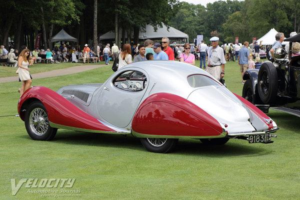 1937 Talbot-Lago T150CSS Coupe by Figoni & Falaschi
