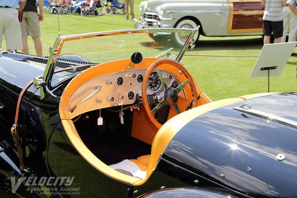 1937 Talbot-Lago Type 150C Roadster by Figoni & Falaschi Interior