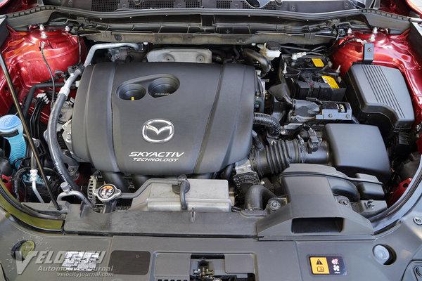 2016 Mazda CX-5 Grand Touring AWD Engine