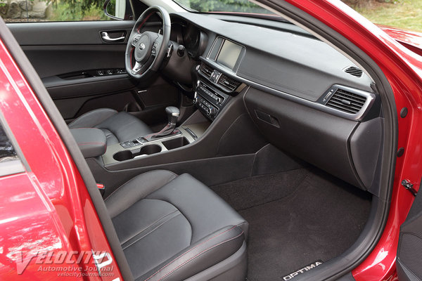 2016 Kia Optima SX Interior
