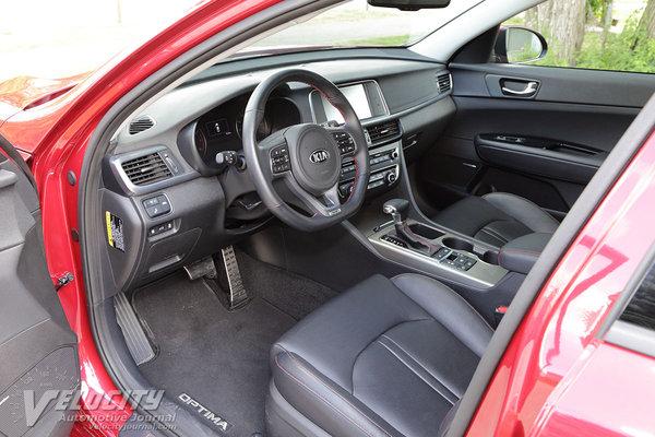 2016 Kia Optima SX Interior