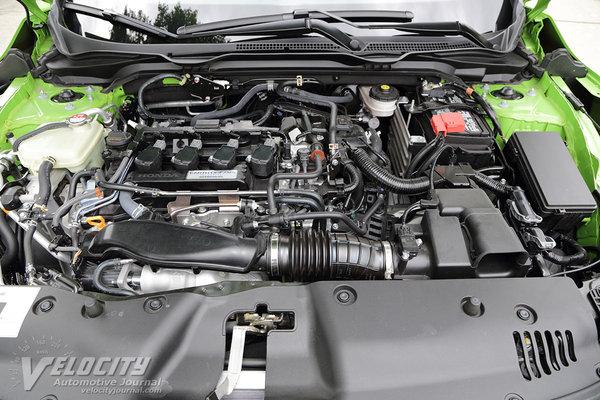 2016 Honda Civic coupe Engine