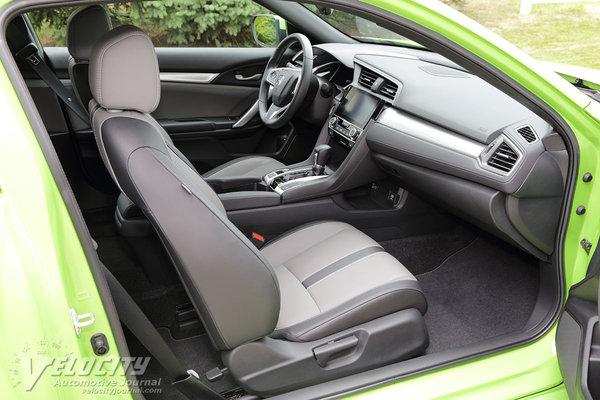 2016 Honda Civic coupe Interior