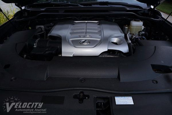 2016 Lexus LX Engine