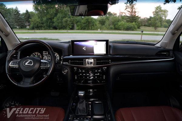2016 Lexus LX Interior