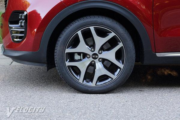 2017 Kia Sportage SX Wheel