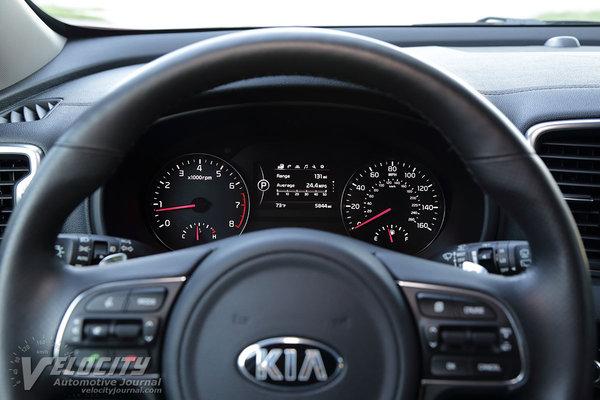 2017 Kia Sportage SX Instrumentation