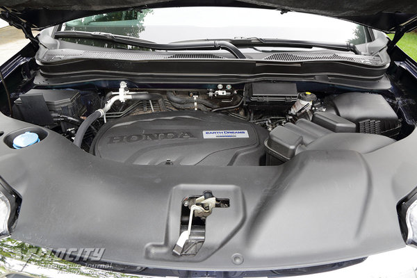 2017 Honda Ridgeline Engine