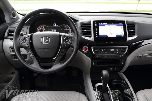 2017 Honda Ridgeline Instrumentation