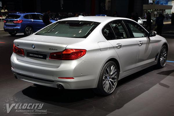 2017 BMW 5-Series sedan