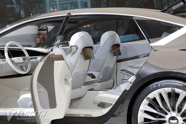 2016 Cadillac Escala Interior