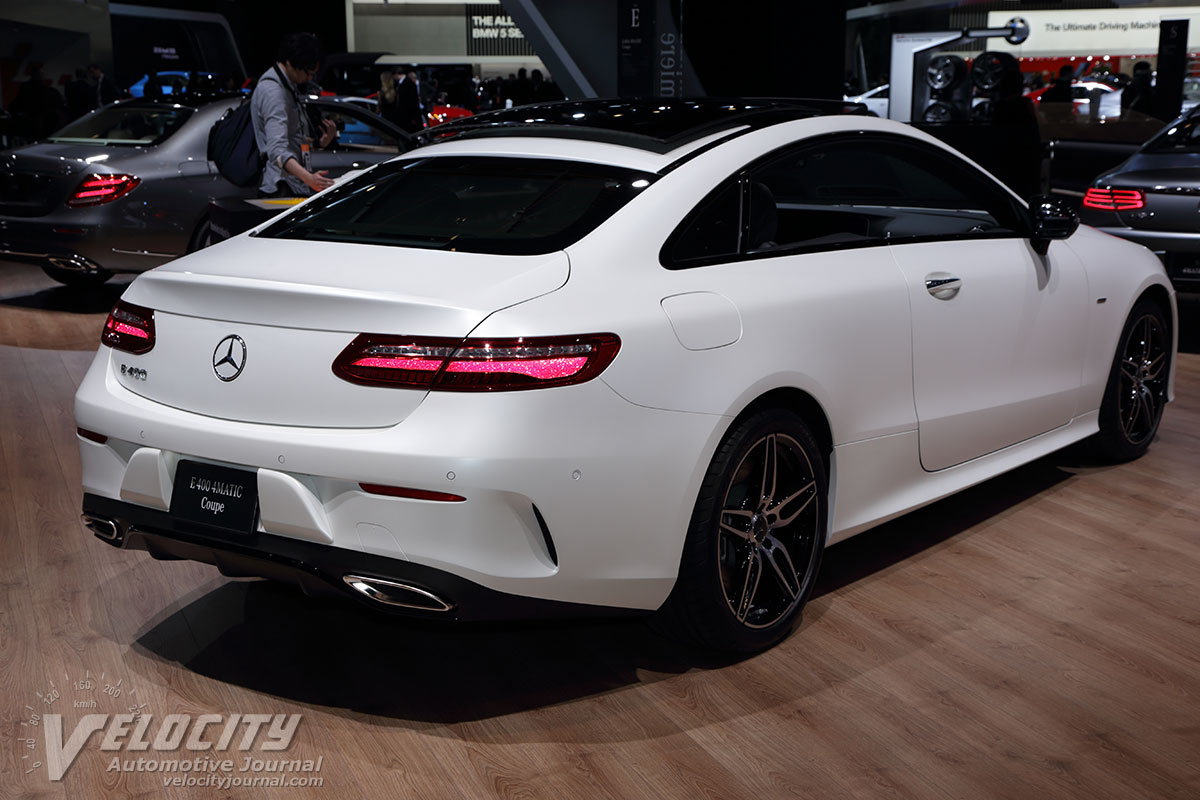 Mercedes C Coupe 2019 >> 2019 Mercedes-Benz E-Class Coupe pictures