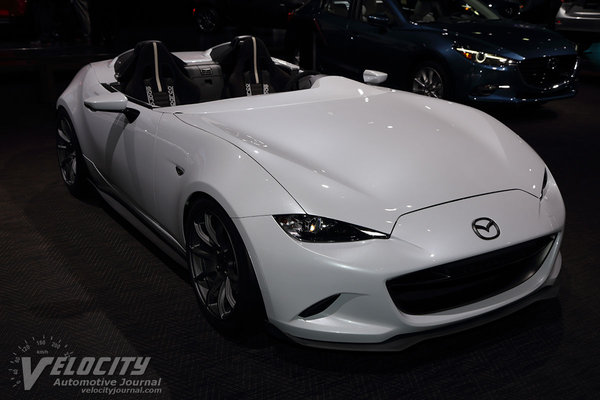 2016 Mazda MX-5 Miata Speedster Evolution information