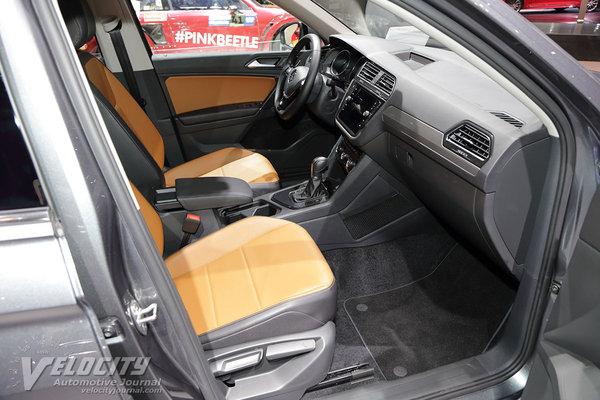 2018 Volkswagen Tiguan Interior