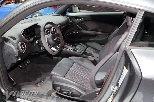 2018 Audi TT RS coupe Interior