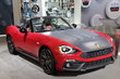 2017 Fiat 124 Spider with Mopar Accessories