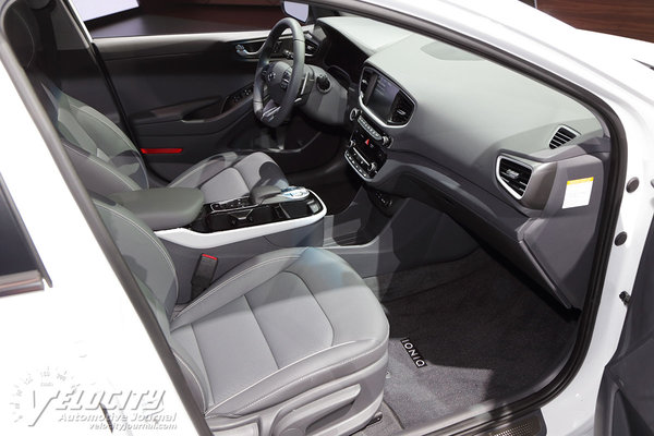 2017 Hyundai Ioniq Electric Interior