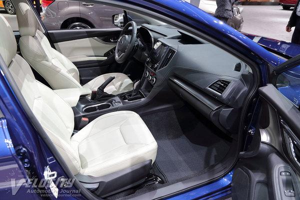 2017 Subaru Impreza 5d Interior