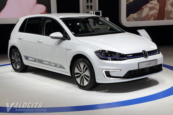 2017 Volkswagen Golf e-Golf