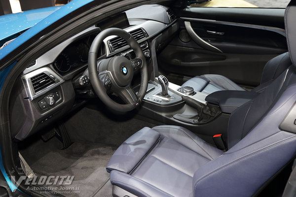 2018 BMW 4-Series coupe Interior