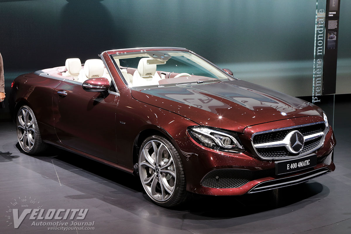 2017 Mercedes Benz C Class >> 2019 Mercedes-Benz E-Class Cabriolet pictures