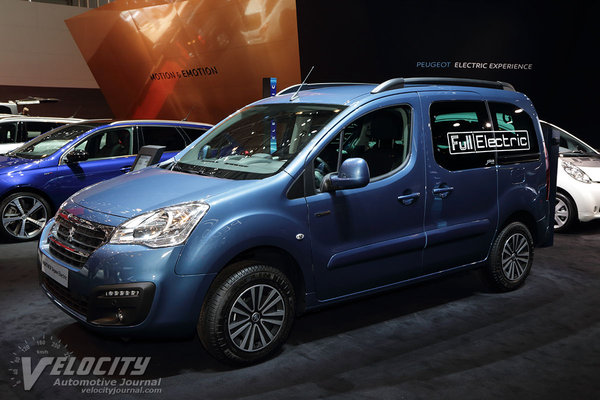 2018 Peugeot Partner Tepee Electric