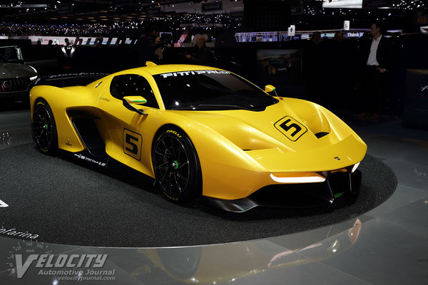 2017 Pininfarina Fittipaldi EF7 Vision GT