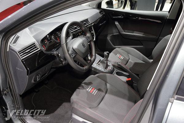 2018 Seat Ibiza 5d Interior