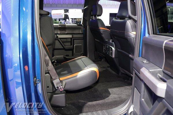 2018 Ford F-150 Raptor Crew Cab Interior