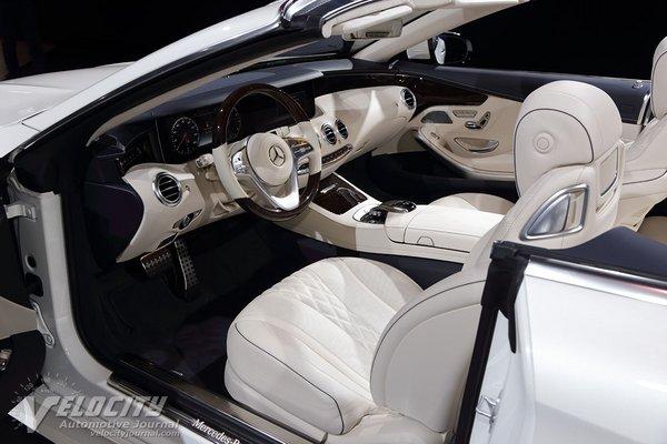 2018 Mercedes-Benz S-Class Cabriolet Interior