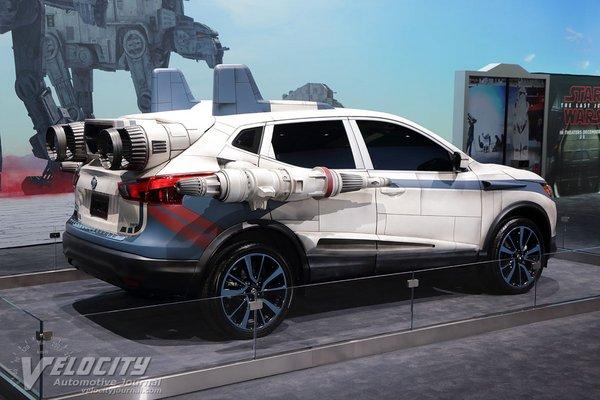 2017 Nissan Rogue Sport - A-wing