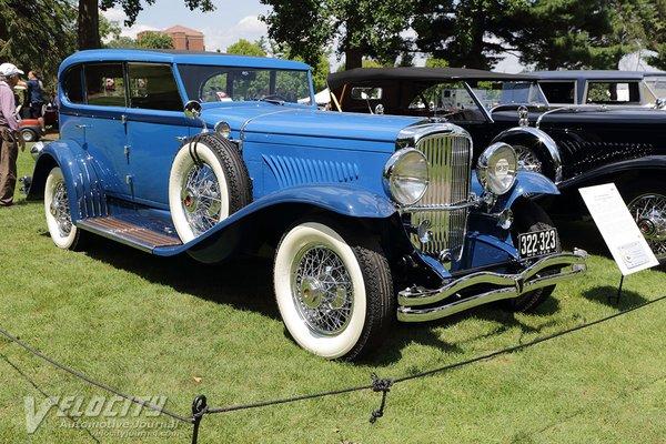 1929 Duesenberg Model J Clear Vision Sedan by Murphy