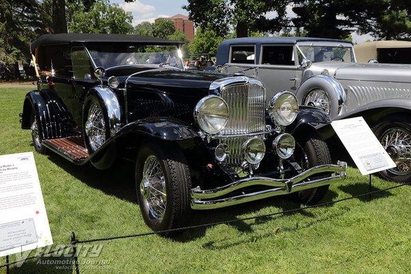 1929 Duesenberg Model J Dual Cowl Phaeton by Murphy