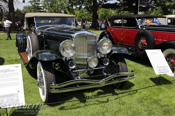 1932 Duesenberg Model J Convertible Victoria by Murphy