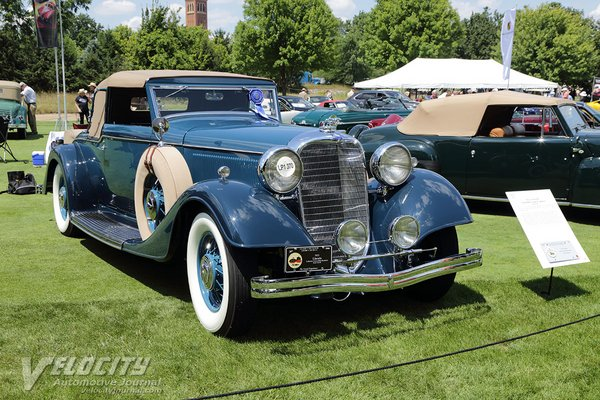 1933 Lincoln KB convertible coupe by LeBaron