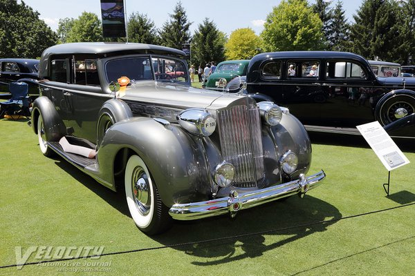 1938 Packard 160 Hard Top Sedan by Bohrman and Schwartz