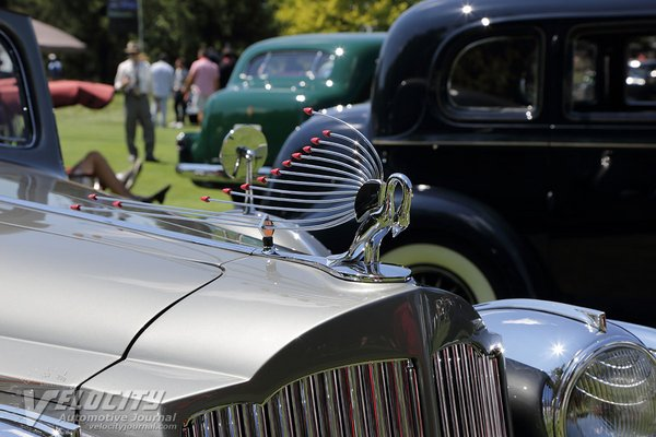 1938 Packard 160 Hard Top Sedan by Bohrman and Schwartz