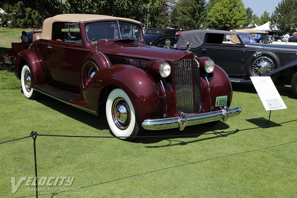 1938 Packard Model 1604 convertible coupe