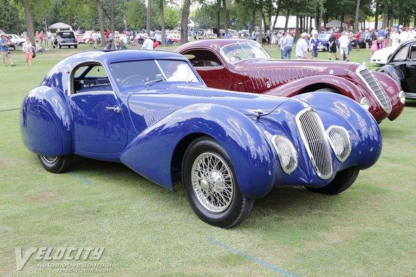 1937 Talbot-Lago T150c Aero Coupe by Pourtout